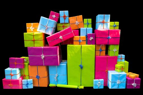 christmas give packages