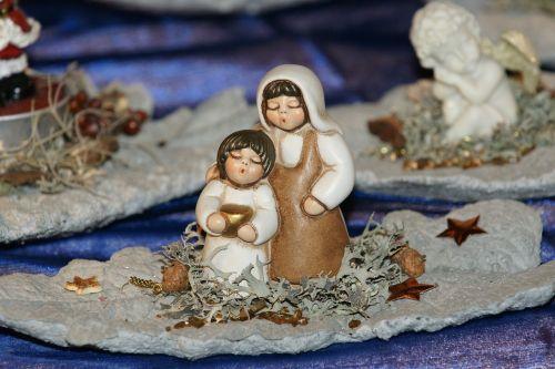 christmas sing figures