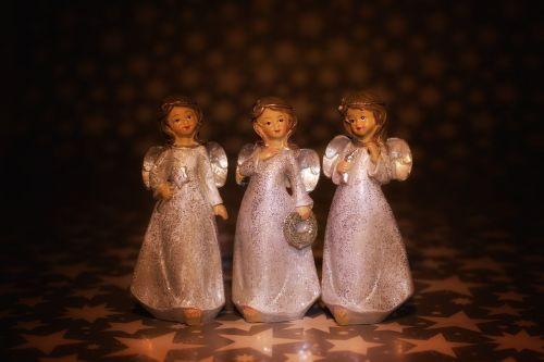 christmas angel praying angel
