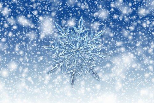 christmas  ice crystal  ice