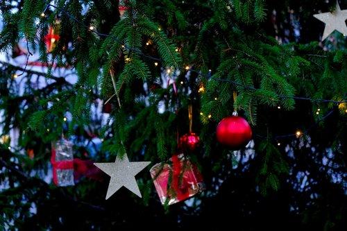 christmas  tree decorations  decoration