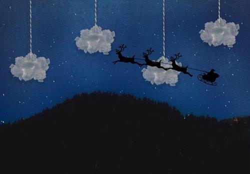 christmas  santa  holidays