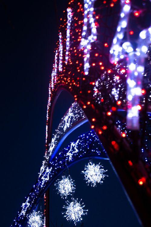 christmas lighting lights
