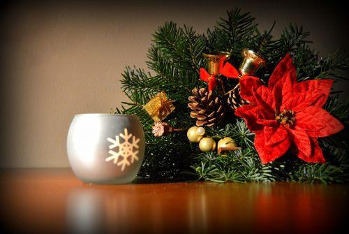 christmas light candles