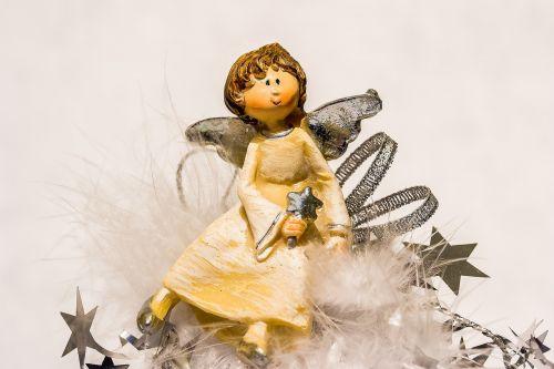 christmas angel angel angel figure