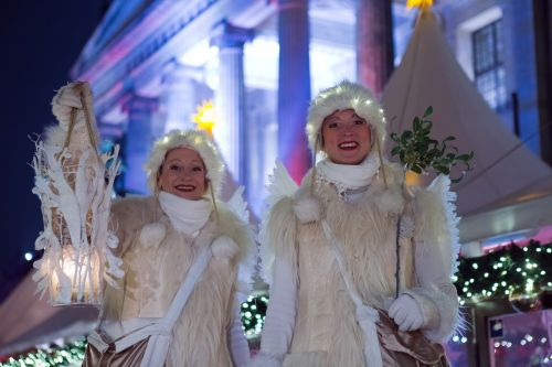 christmas angels beautiful market