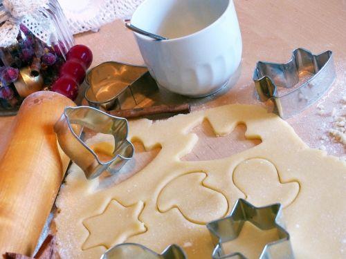 christmas baking bake cookies