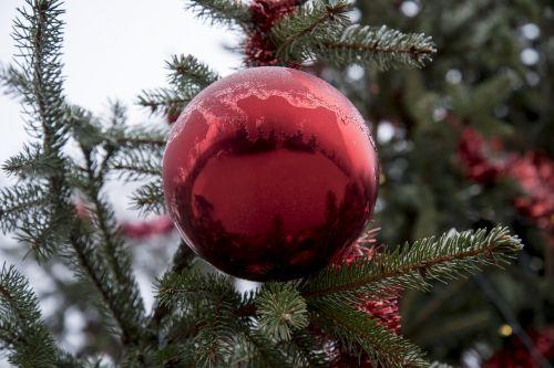 christmas bauble festive decoration