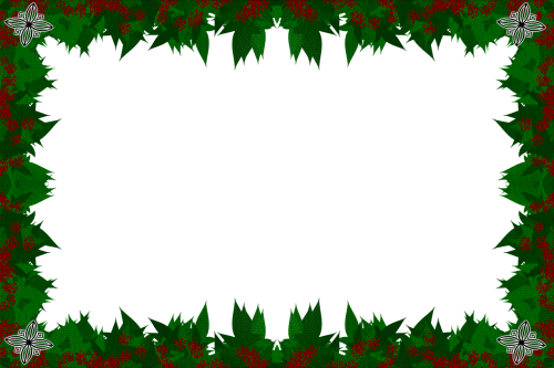 christmas border xmas merry christmas