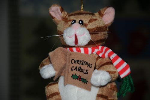 Christmas Carol Cat Toy