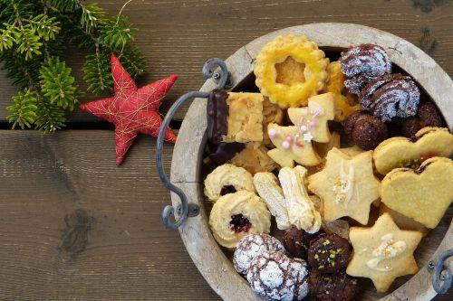 christmas cookies cookies star