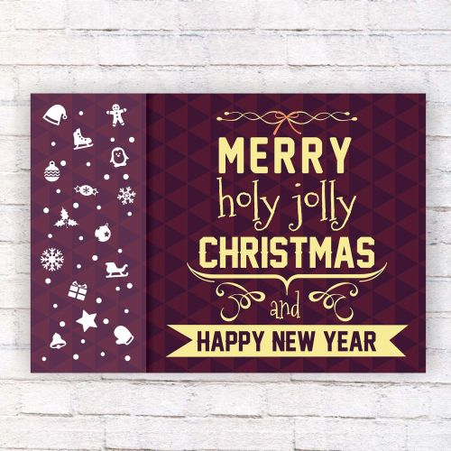 christmas day background vector