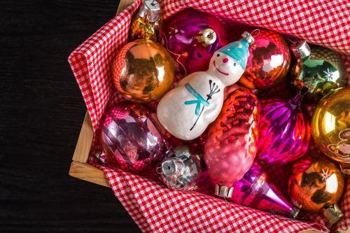 christmas decorations new year's eve snegovichok