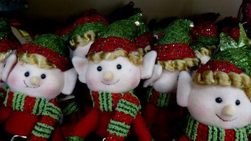 Christmas Elves Toys