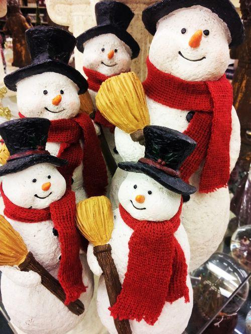 snowman figurines christmas jewelry christmas atmosphere