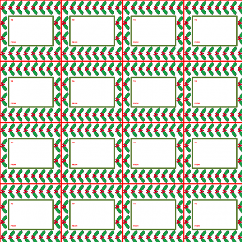 christmas gift tags christmas gift tag