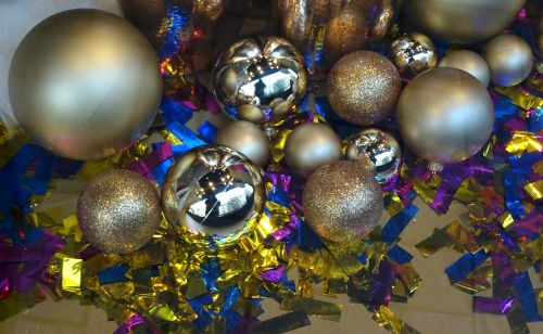Christmas Glitter And Baubles