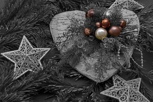 christmas heart christmas decoration