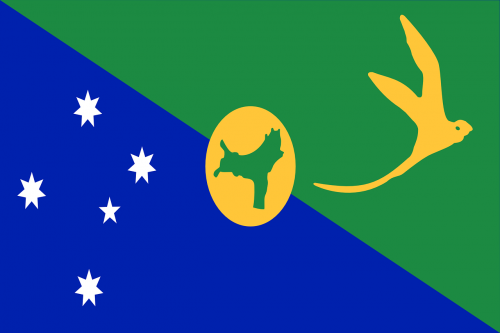 christmas island flag national flag