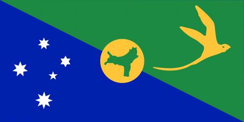 christmas island flag territory