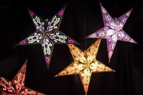 christmas market  star  christmas