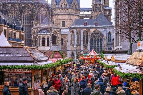 christmas market  christmas  aachen