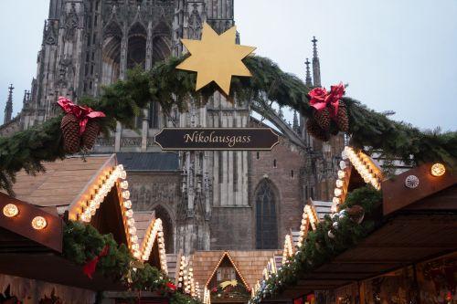 christmas market star light