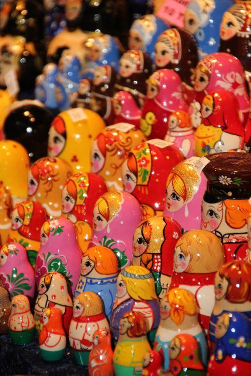 christmas market christmas decorations figures