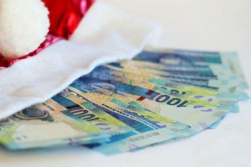 christmas money money billing