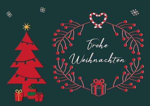 christmas motif  christmas card  modern
