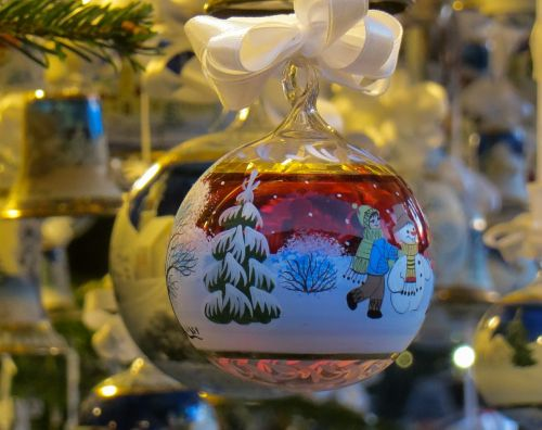 christmas ornament glass art christmas ornaments