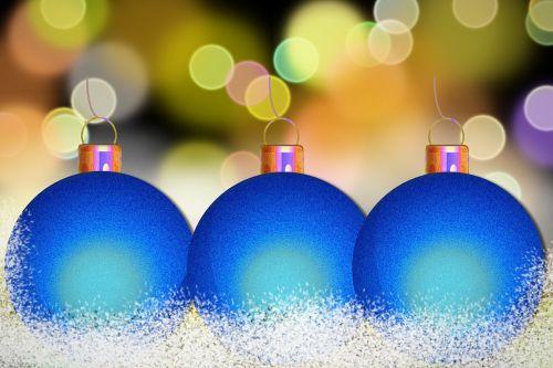 christmas ornament bokeh christmas bauble