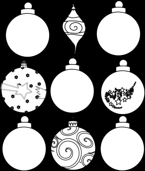 christmas ornaments christmas balls christmas decorations