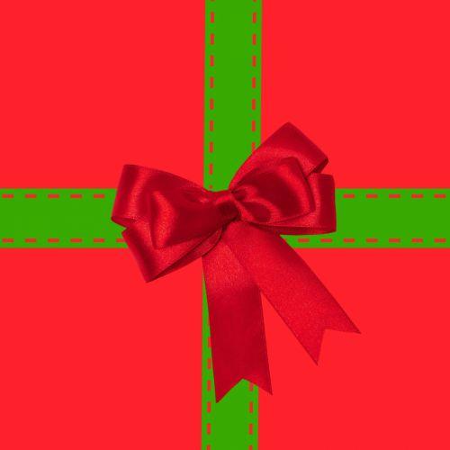 Kalėdos, xmas, dovanos, dovanos, pateikti, raudona, žalias, dovanos, šventė, sezoninis, lankas, Kalėdų paketas