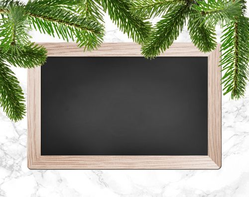 christmas party christmas dinner chalkboard