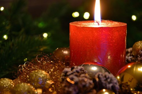 christmas picture  christmas candle  christmas decorations