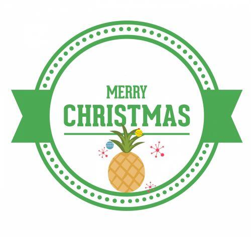 Kalėdos, xmas, ananasai, papuošalai, medis, ananasas & nbsp, medis, Kalėdų ananasų medis