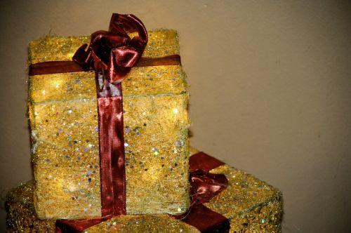 Christmas Present Light Decorations