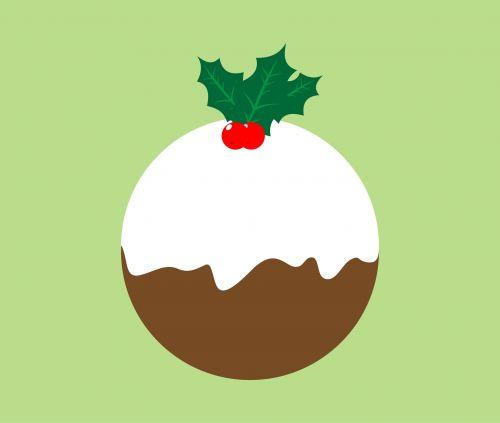 Christmas Pudding Clipart