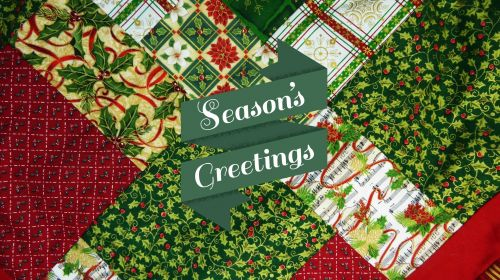 Christmas Quilt Holiday Greeting