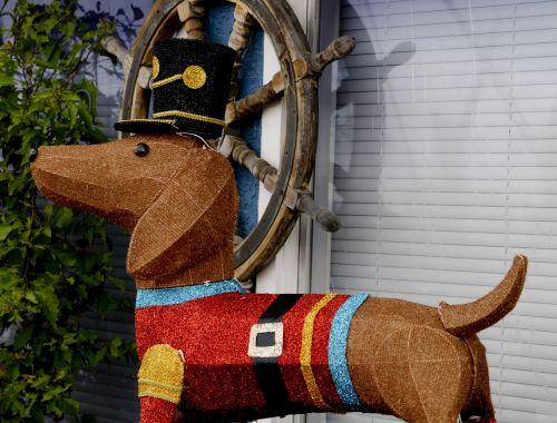 Christmas Sailor Dog