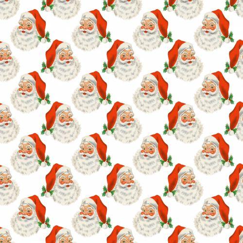 Christmas Santa Vintage Background