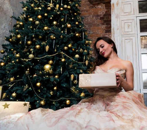 christmas tree holiday attire