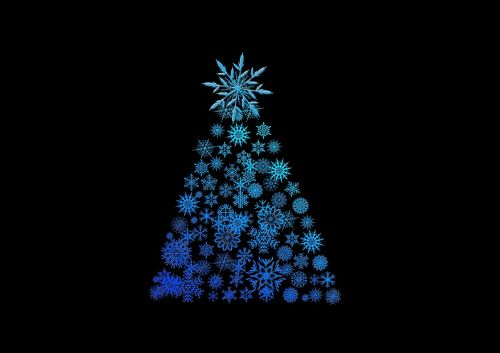 christmas tree background structure