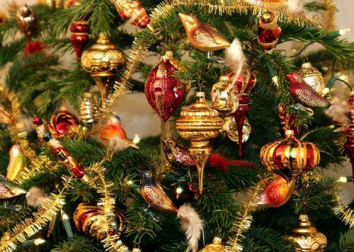 christmas tree christmas jewellery