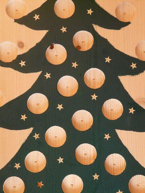 christmas tree advent calendar handicraft