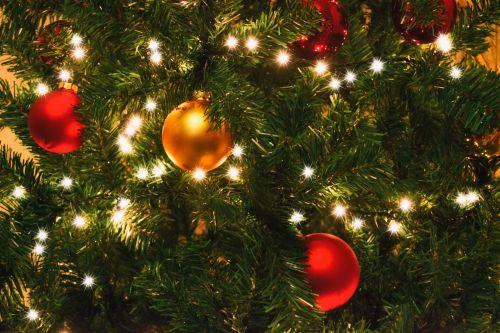 Christmas Tree Lights Detail