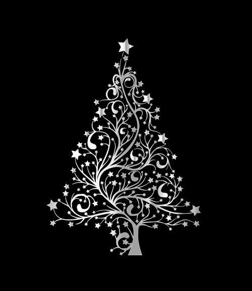 Christmas Tree Modern Card