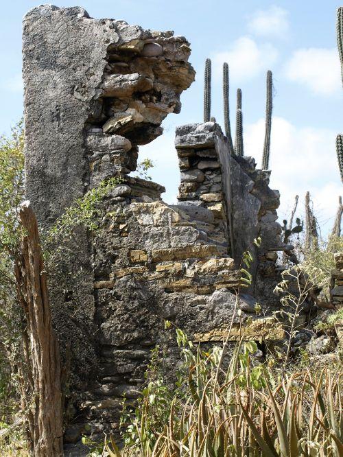 christoffel park ruins antilles