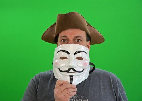 chroma key greenbox anonymous